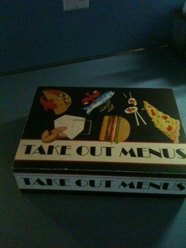 Take out Menus